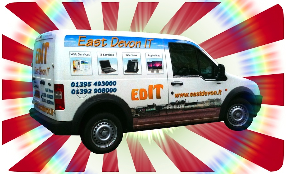 The EDIT (East Devon IT) Van