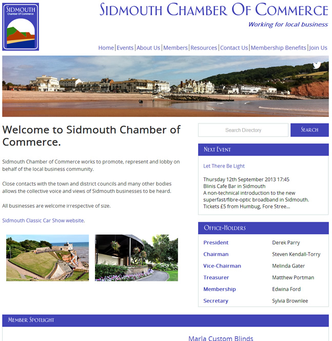 Sidmouth Chamber Of Commerce