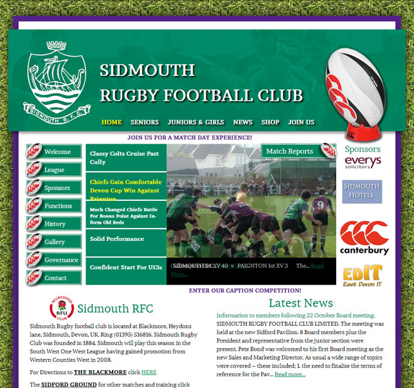 Sidmouth Rugby Football Club